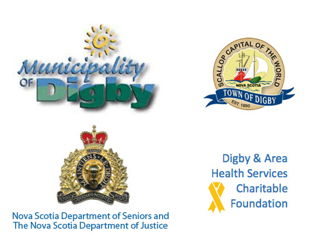 Municipality of Digby, Town of Digby, Nova Scotia Department of Seniors and the Nova Scotia Department of Justice and Digby and Area Health Services Charitable Foundation